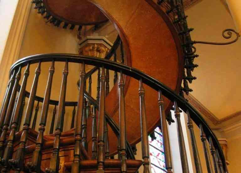 LORETTO CHAPEL STAIRCASE