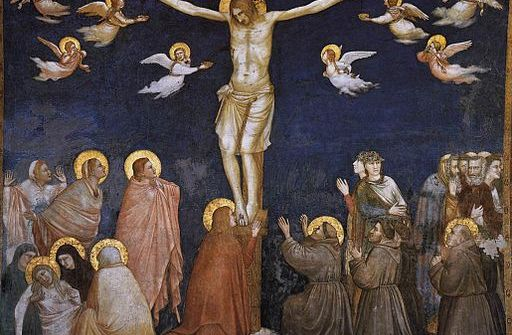 GIOTTO THE CRUCIFIXION