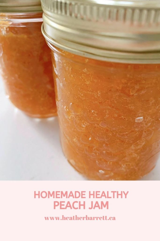 healthy-peach-jam