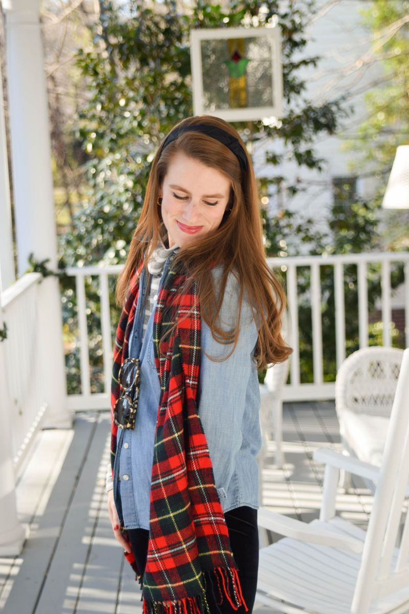 How to Stay Intentional During the Holidays (And Add a Bit of Tartan to Every Outfit!)