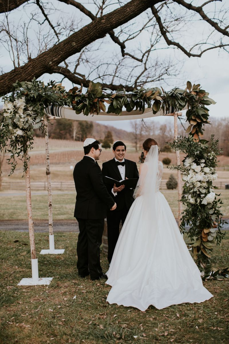 How We Planned Our Jewish Wedding Ceremony