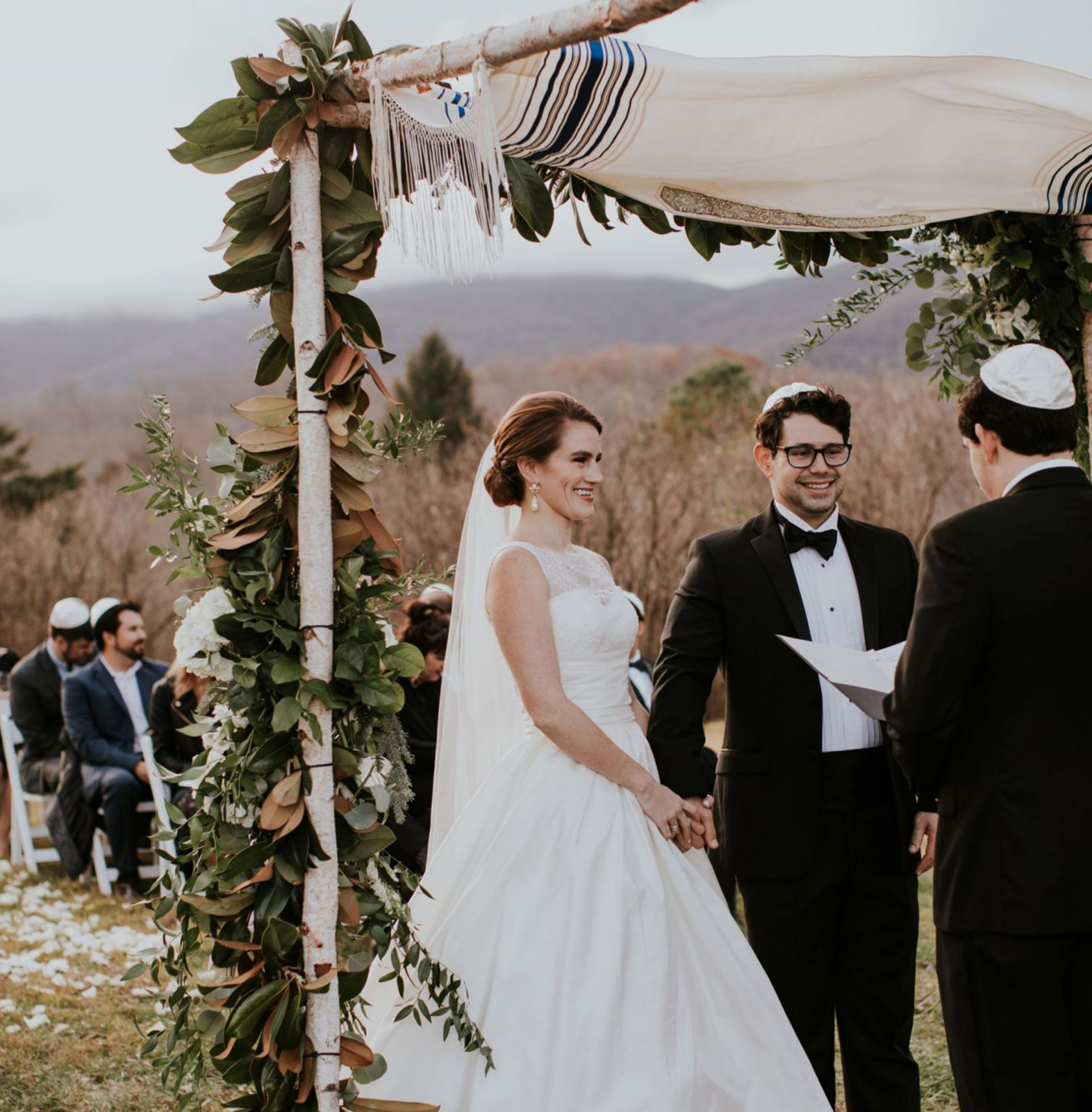 How We Planned Our Jewish Wedding Ceremony - Heather Bien
