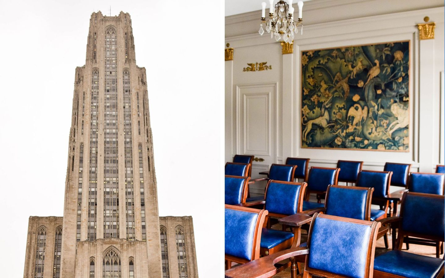 weekend in pittsburgh - pittsburgh travel guide - cathedral of higher learning - university of pittsburgh