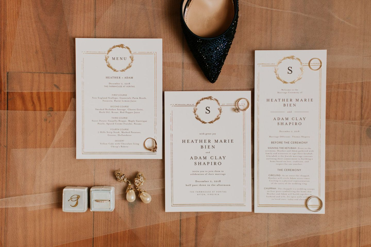 minted wedding - minted little wreath - minted wedding programs - minted wedding menus - minted wedding invitations