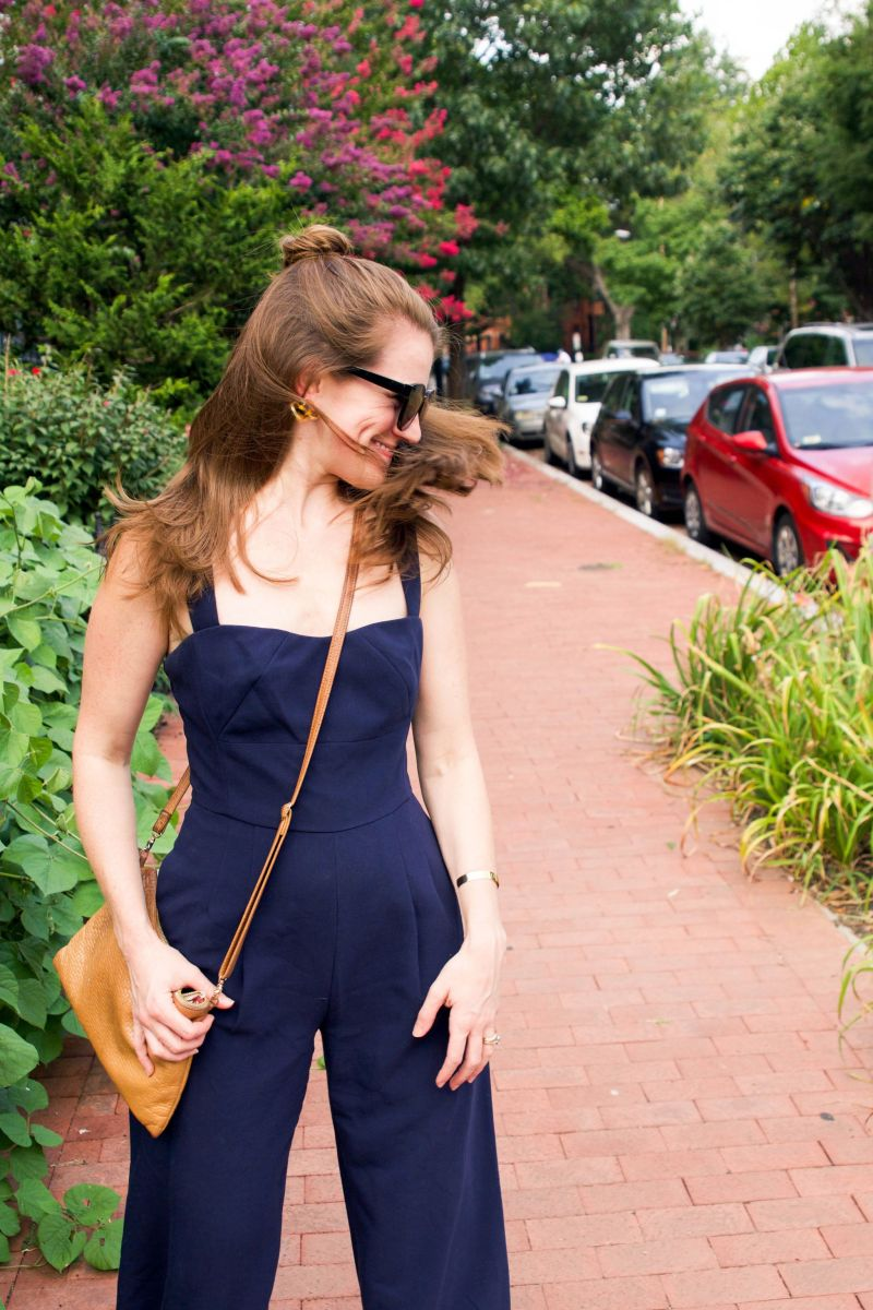 Life Lately + Gal Meets Glam Jumpsuit and Everlane Day Slide Review