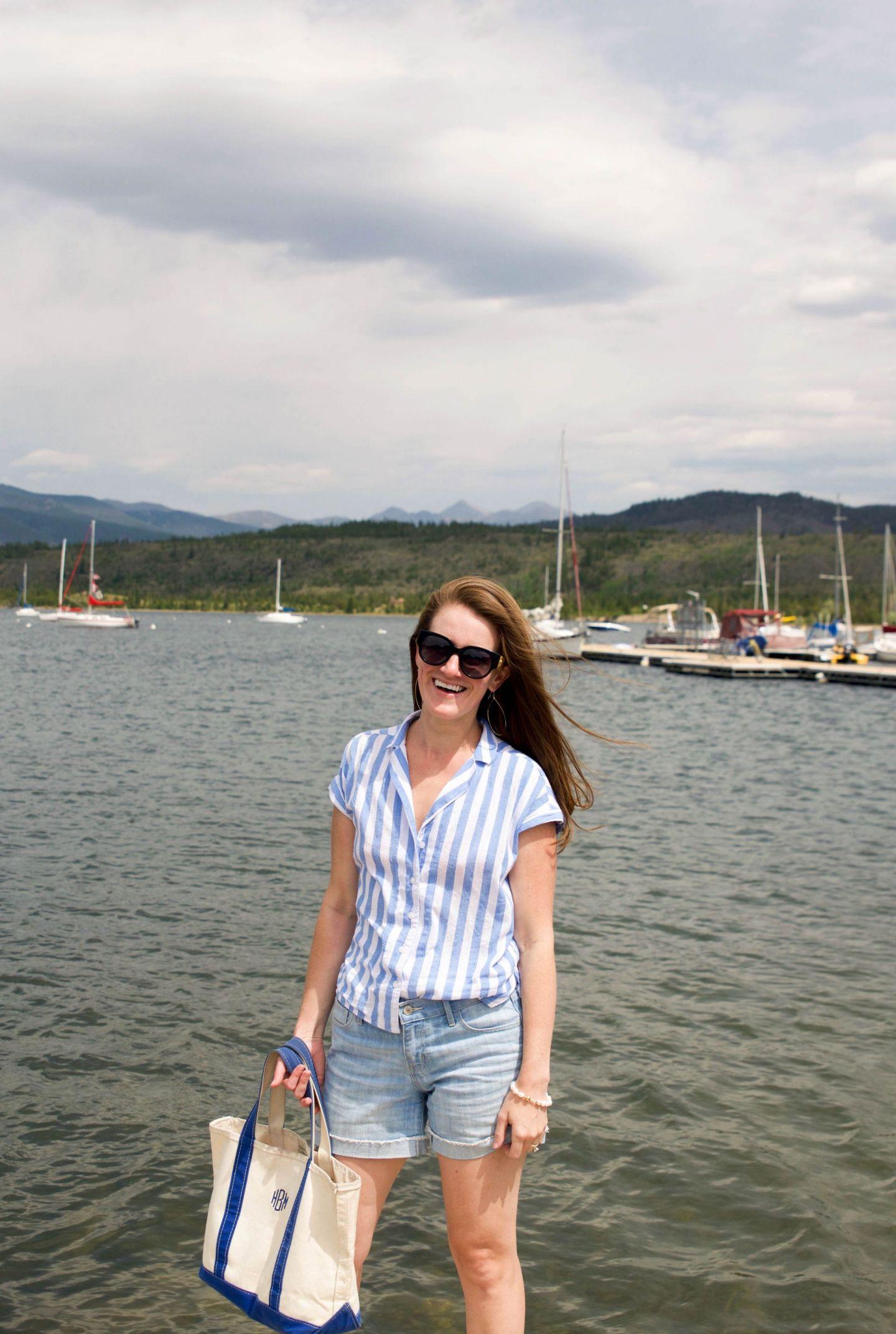 summer in colorado - frisco bay