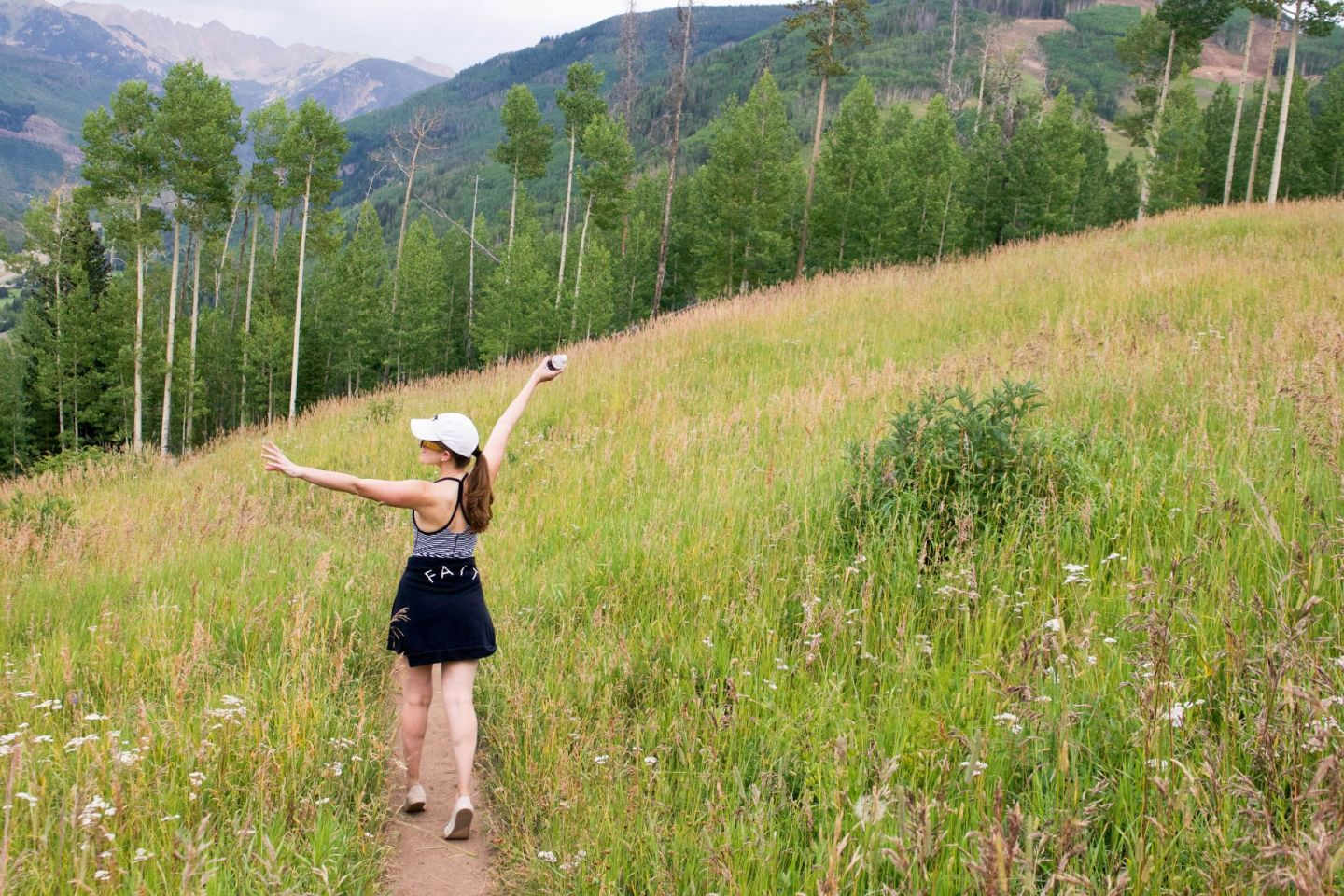 summer in vail - berry picker trail