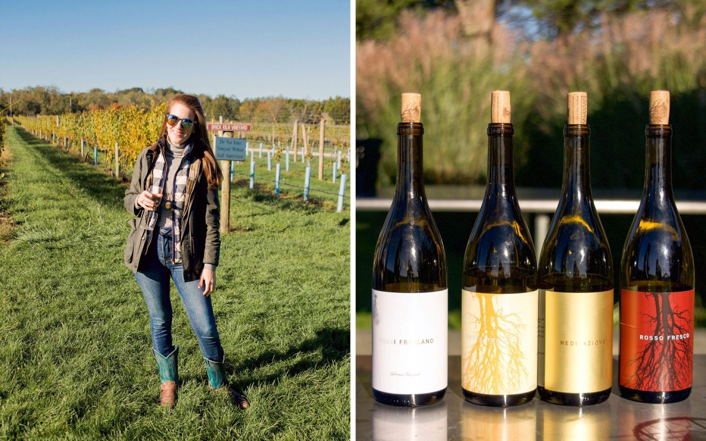 fall in the hamptons - channing daughters winery