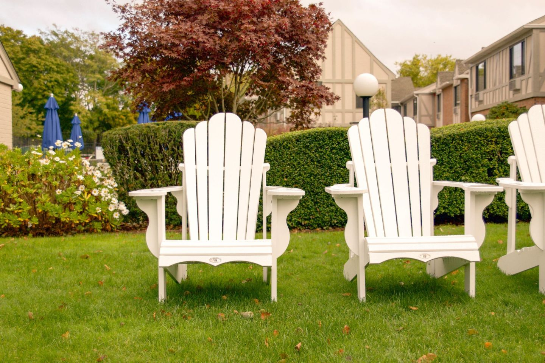 fall in the hamptons - southampton village - southampton inn - adirondack chairs hamptons