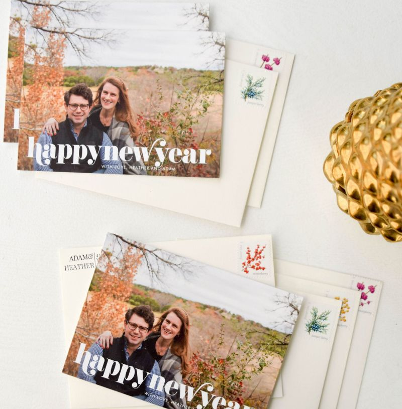 Where to Order New Year's Cards: Our 2019 Holiday Card