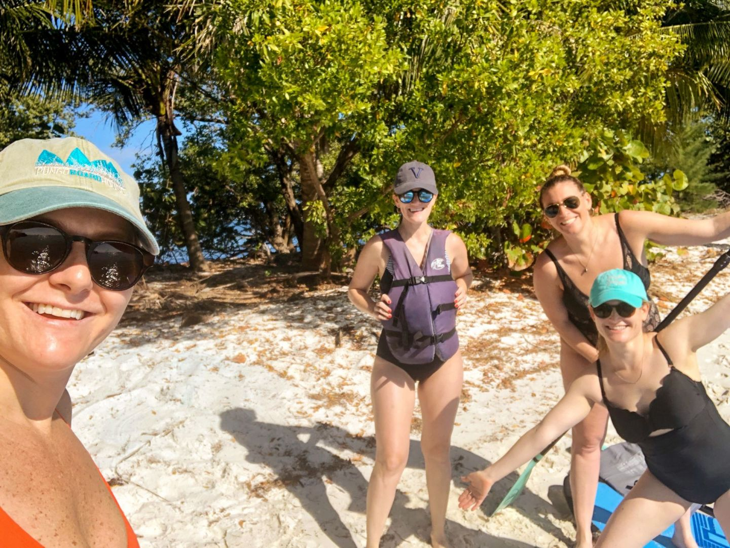 girls weekend in coconut grove miami - paddleboarding coconut grove - paddleboarding dinner key miami