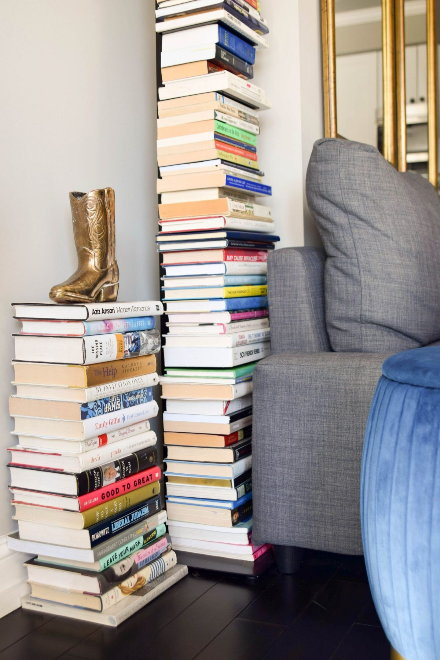 bookcase that looks like a stack of books - sapiens bookcase - sapiens bookcase less expensive