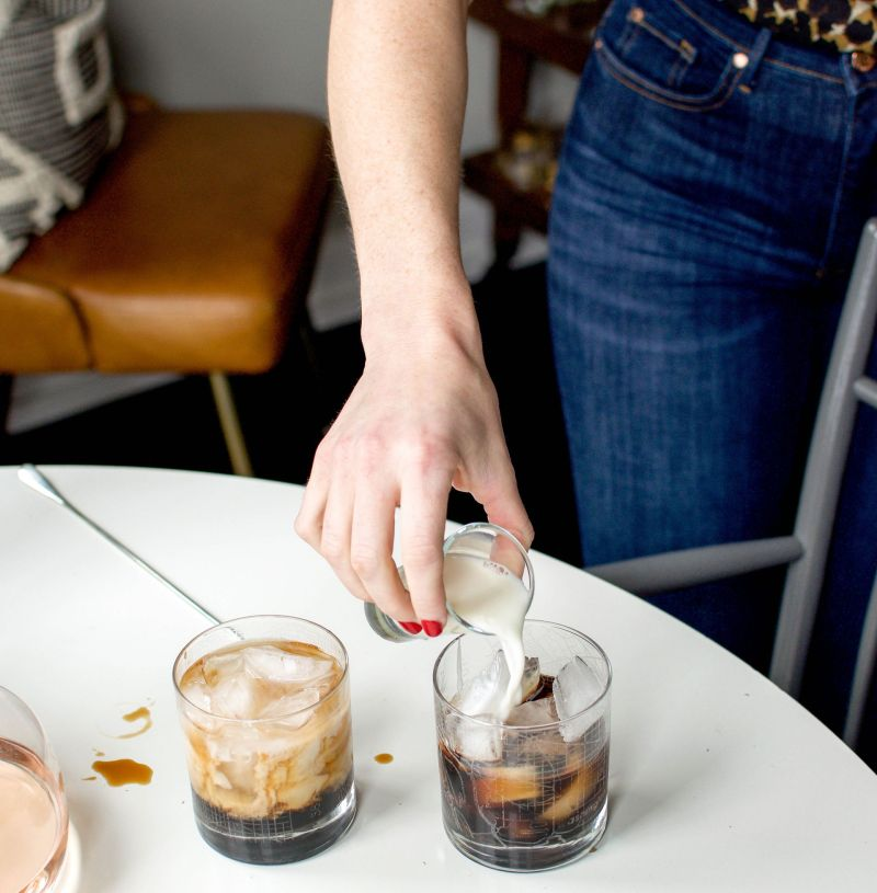 Mixing Up a Weekend Cocktail: Mint White Russian