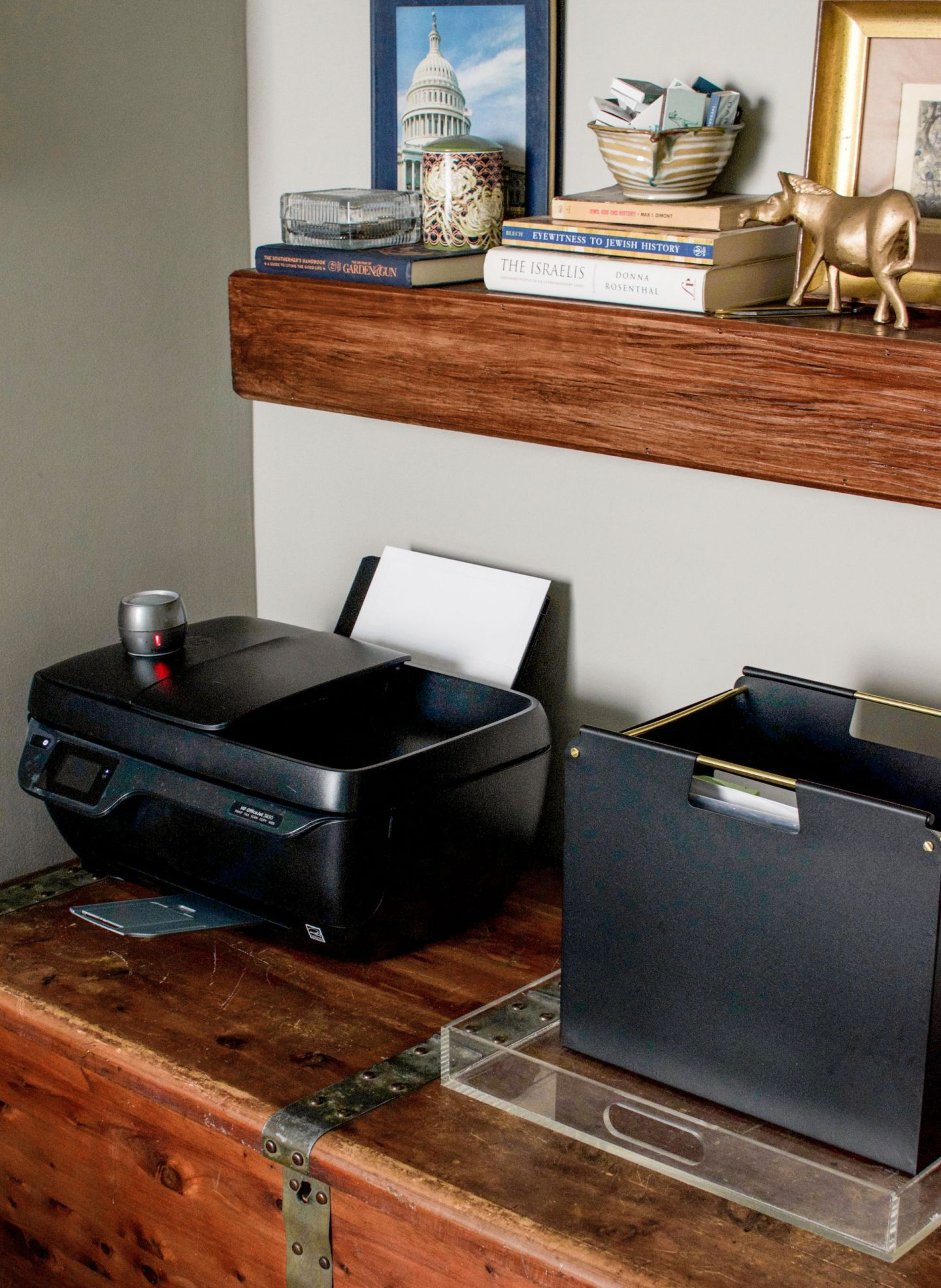 guest bedroom home office - small printer recommendation - HP OfficeJet 3830 All-in-One Wireless Printer review