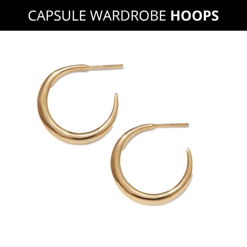 Are Hoop Earrings In Style? Here Are Three Capsule-Worthy Styles