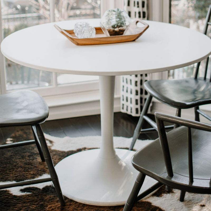 Don't Try to Refinish the Docksta Table! $59 Ikea Docksta Tabletop Option