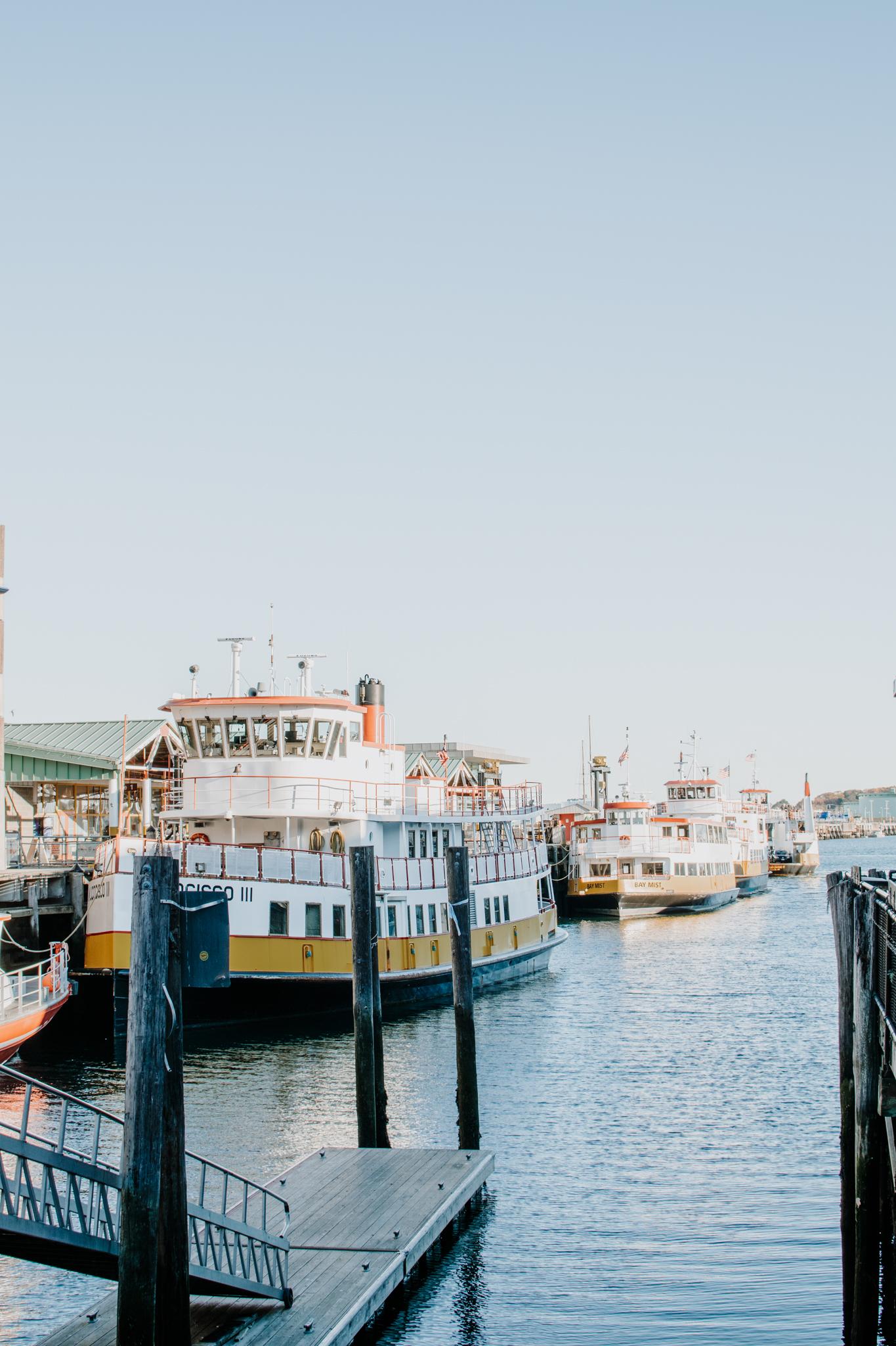 fall weekend in portland - old port portland