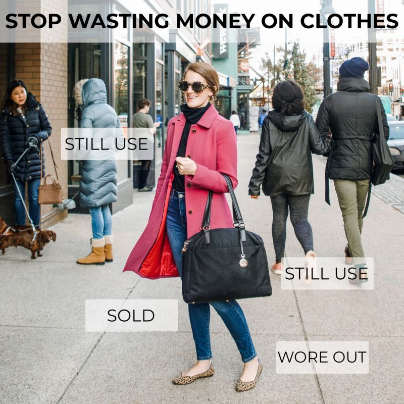 How to Create a Clothing Budget + Stop Wasting Money on Clothes