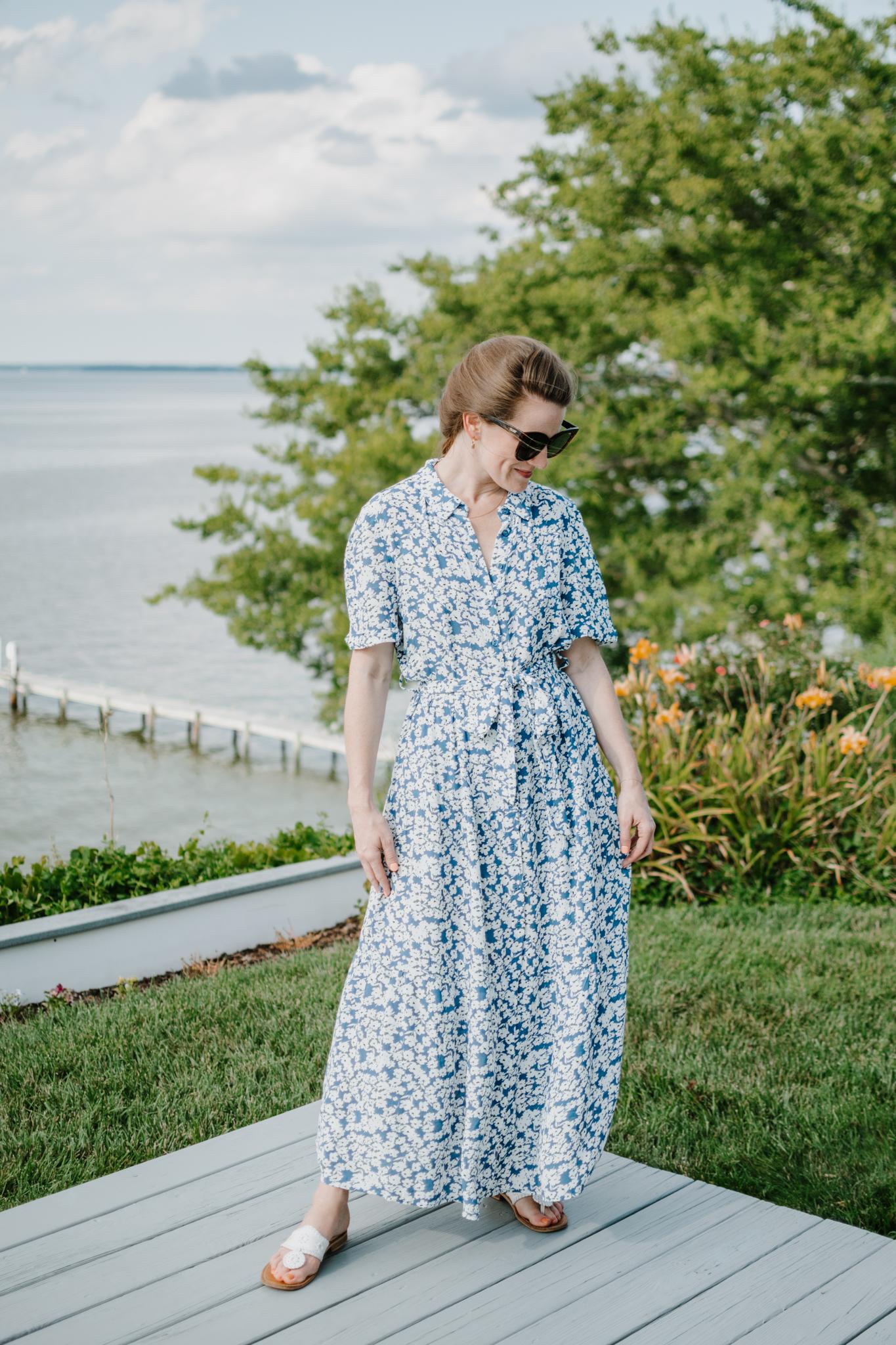 lady day dress - summer shirt dress - royals inspired dress
