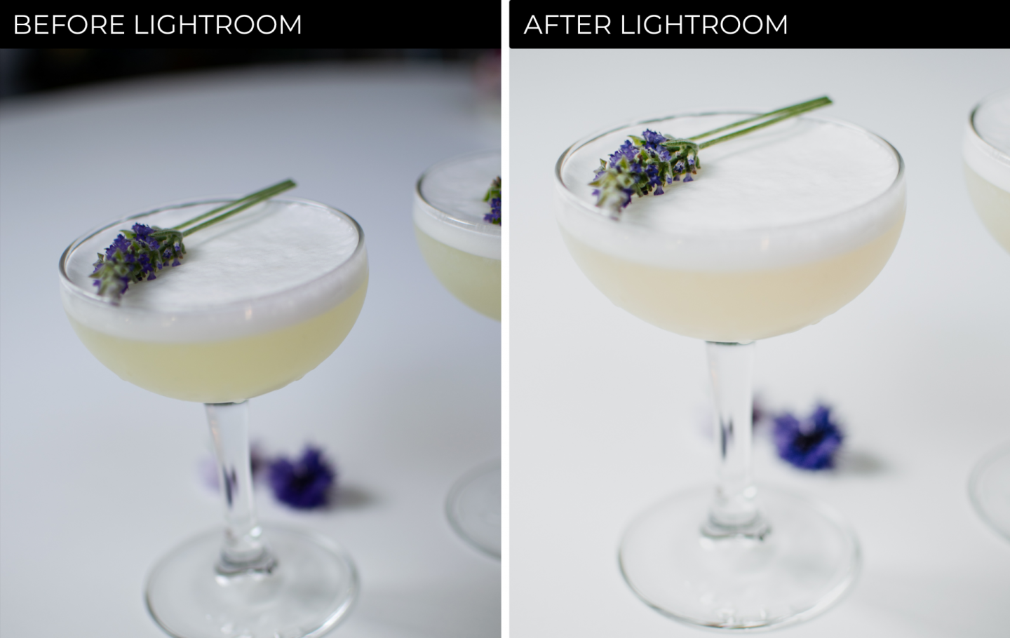 how to style cocktails - how to edit cocktail photos in lightroom