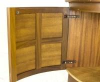 B440 Mid Century Modern Teak Corner Cabinet, Curio Cabinet ...