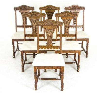 antique oak dining chairs armrest chair archives heatherbrae antiques