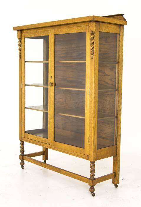Antique Display Cabinet  Vintage China Cabinet  Canada