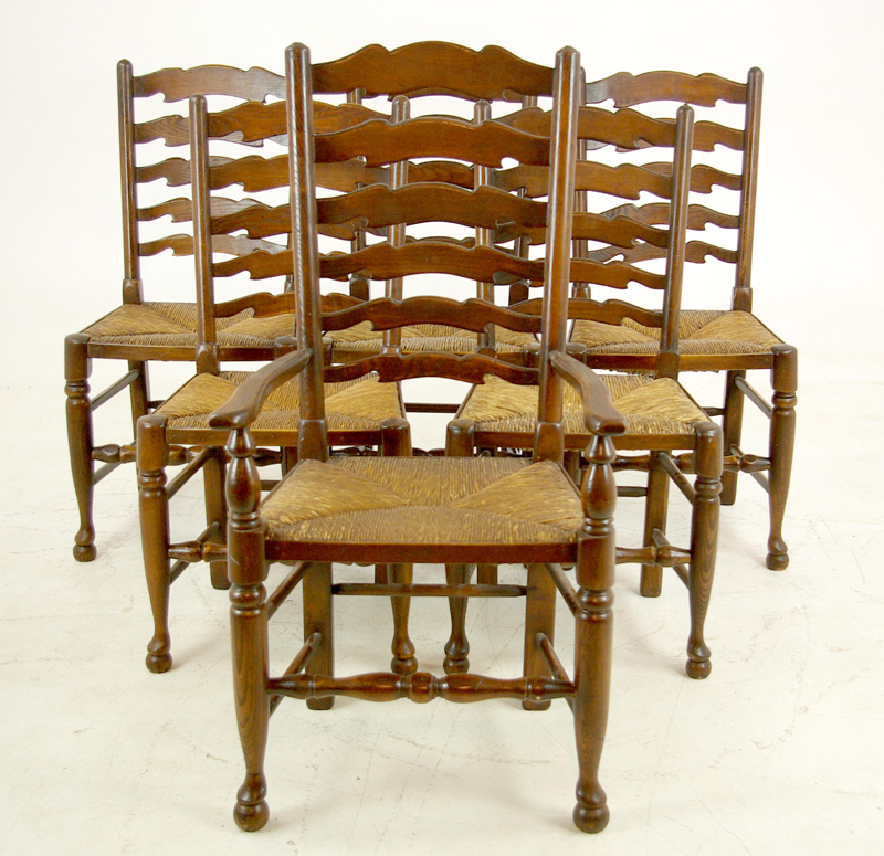 rush seat chairs chair covers at bed bath and beyond antique ladder back 5 1 b1154