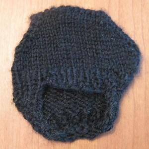 Violin Chin Rest Cozy Free Knitting Pattern