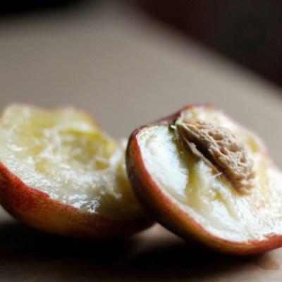 Sweet Peach Snack Cake