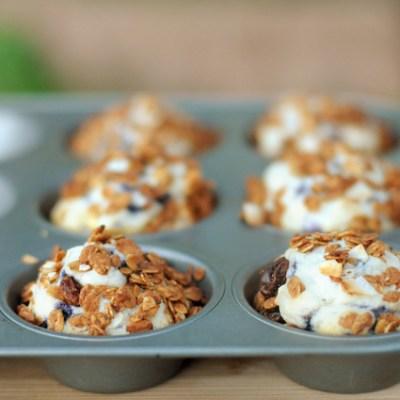 Granola Crunch Muffins