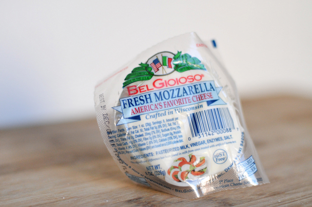 Simple Baked Risotto with Mozzarella