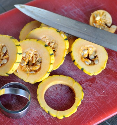 Oven-Fried Delicata Rings