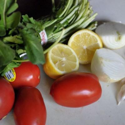 Arugula Pesto Farro Salad