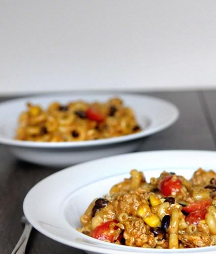 Blog Love:  Chicken Taco Pasta