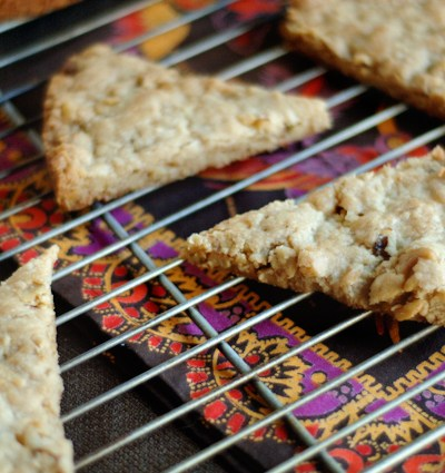 Walnut Vanilla Bean Shortbread