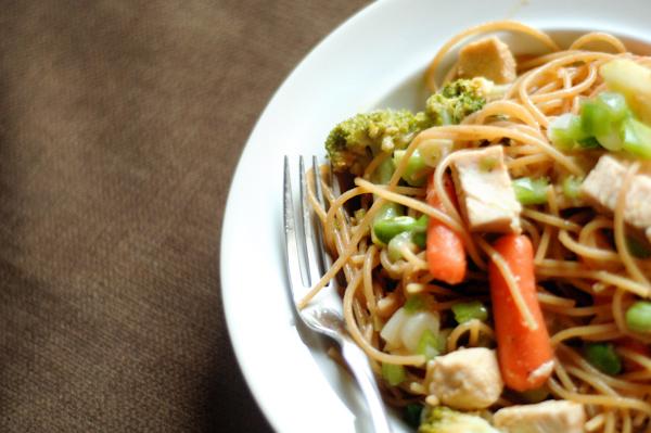 Sweet Thai Noodles