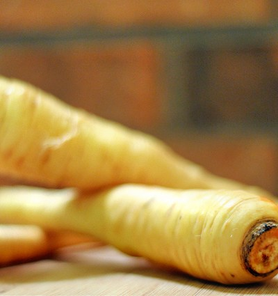 Cinnamon Citrus Roasted Parsnips