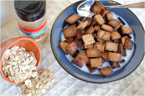 Crunchy Homemade Oatmeal Squares