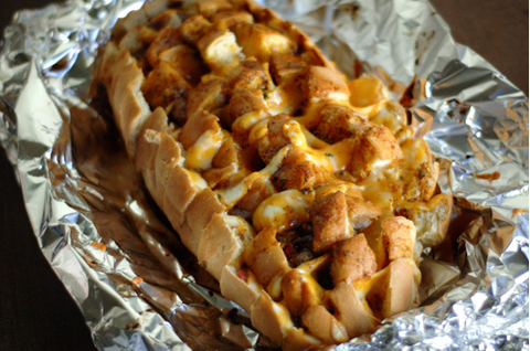 Barbeque Bacon Ranch Bread