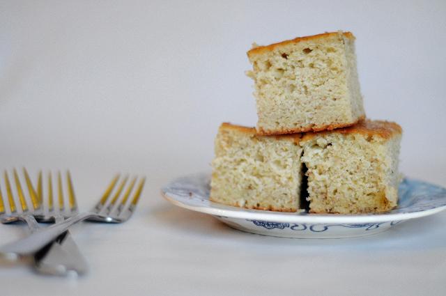 The Ultimate Banana Snack Cake || Heather's Dish