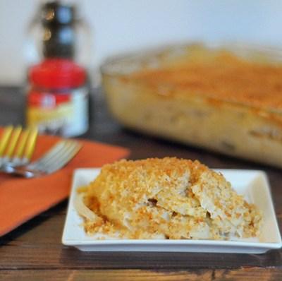 Parsnips Au Gratin, Caribbean Jerk Meatloaf and Breakfast Biscuit Pie