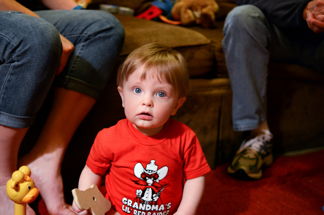 Wes at 12 Months