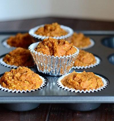 Healthier Pumpkin Spice Muffins
