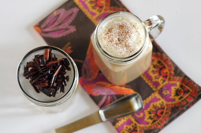 Homemade Cinnamon Dolce Latte + The Best Part of Friendship    HeathersDish.com #thebestpart #starbucksknockoff #latte
