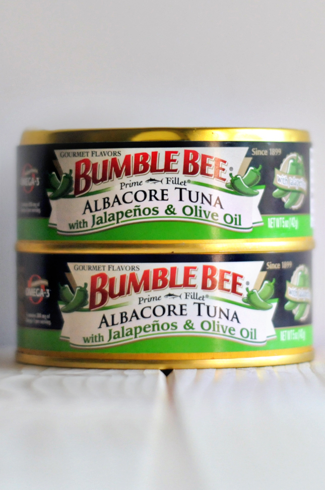 Jalapeño Tuna Pot Stickers || HeathersDish.com #beesquad