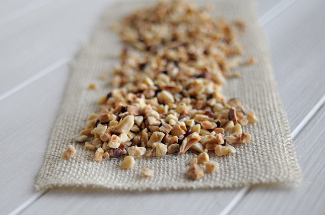 Simple Toasted Hazelnut Butter || HeathersDish.com