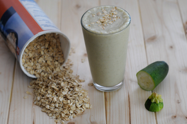 Zucchini Bread Smoothie || HeathersDish.com