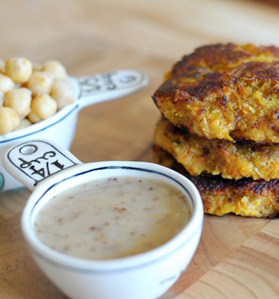 Sweet Potato Chickpea Burgers