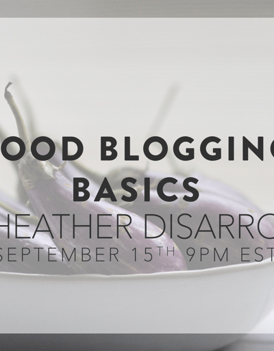 Food Blogging Basics